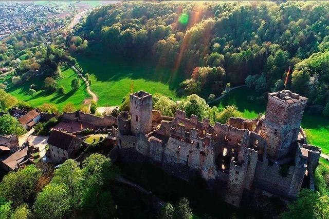 Der Tag, an dem Burg Rötteln niederbrannte