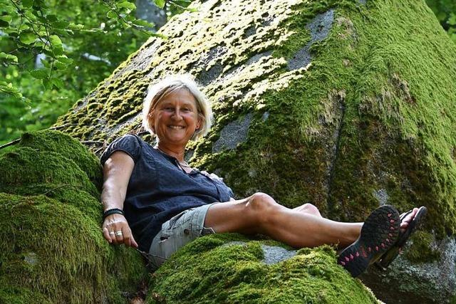 Regina Baumgartner aus Steinen will den Wald besitzbar machen