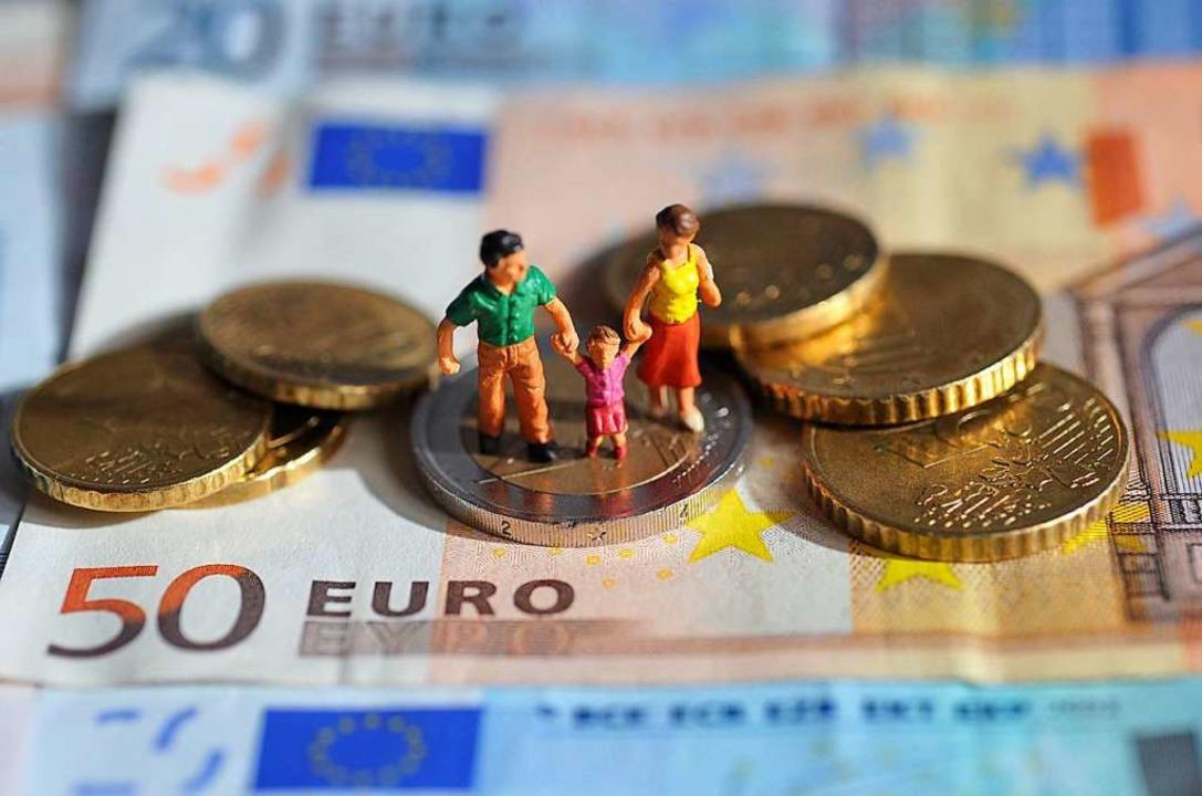 Wenn der Lohn nicht reicht, hilft der Staat.  | Foto: Andreas Gebert