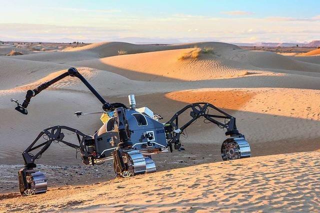 Wo es gefährlich wird, sollen künftig Roboter aufräumen