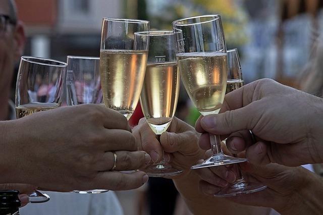 Müllheimer feiern bei Rekordhitze ihr Stadtfest