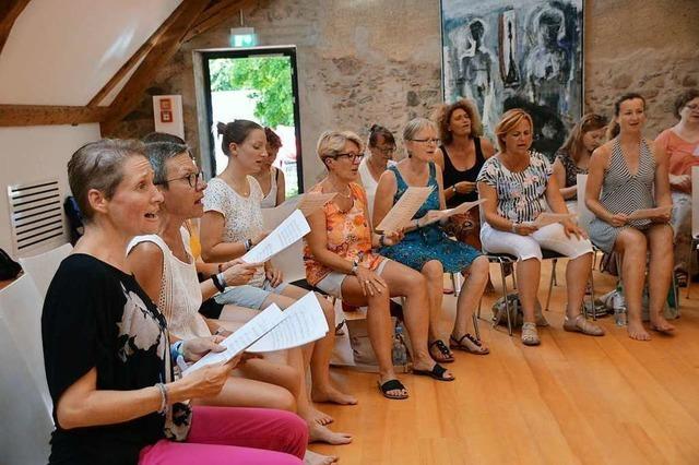 Die Workshops im Rahmen des Black Forest Voices Festival in Kirchzarten machen Lust auf mehr