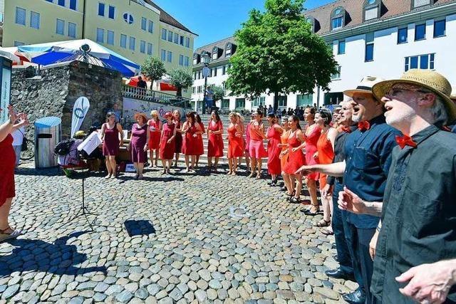 Der Samstag war einer der veranstaltungsreichsten und heißesten des ganzen Jahres in Freiburg