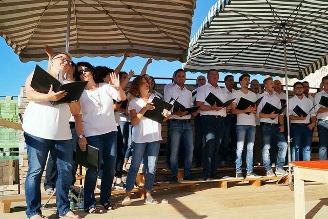 175 Jahre Gesangverein Egringen – Ein rundum schöner Sommerabend
