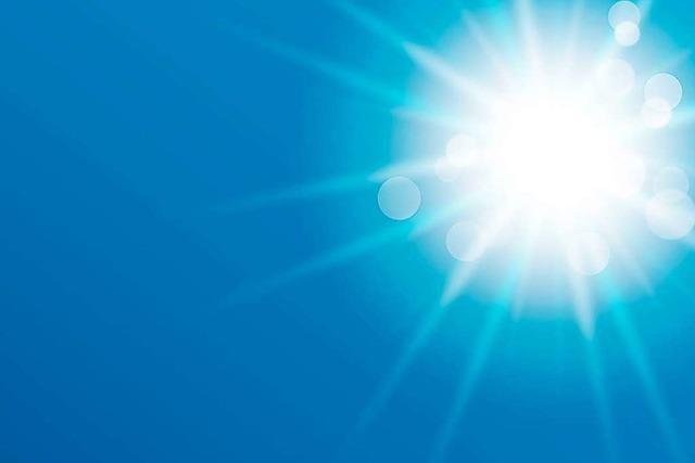 Durch die mediterranen Temperaturen herrscht sommerlicher Ausnahmezustand