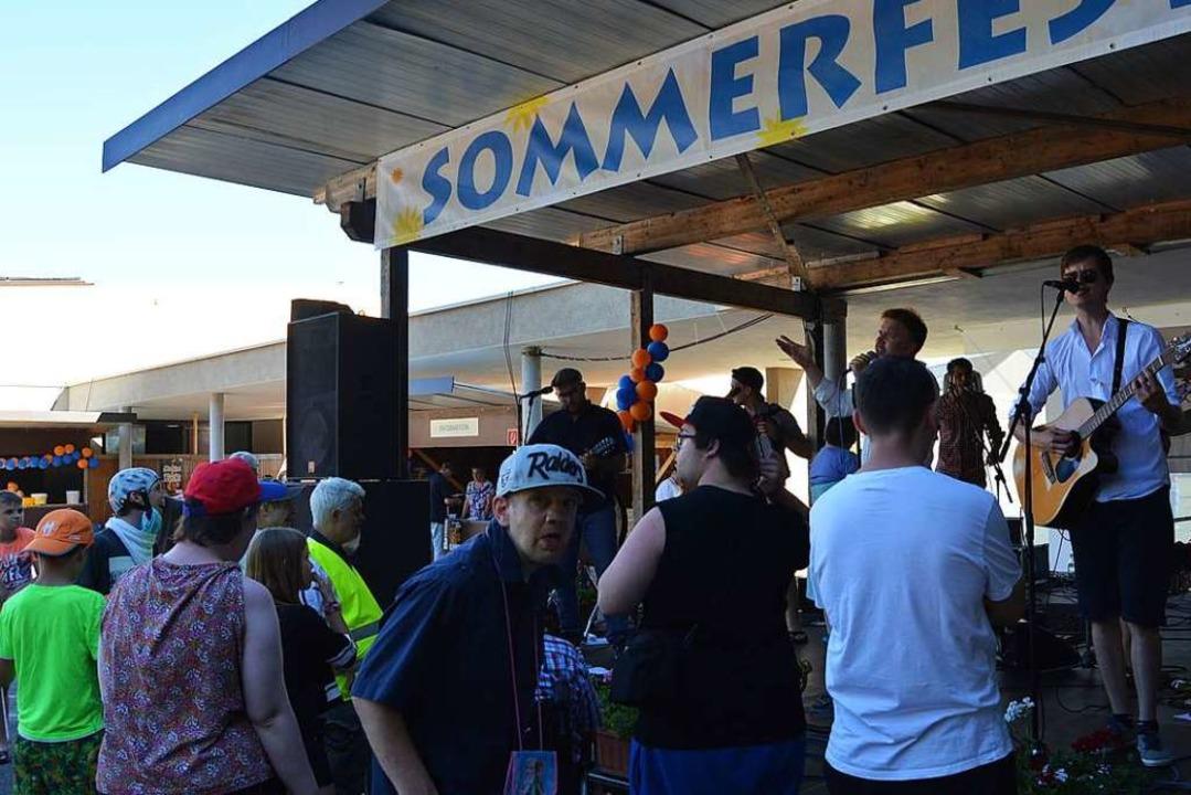 Trotz Hitze wurde es ein gelungenes Sommerfest.  | Foto: Danielle Hirschberger