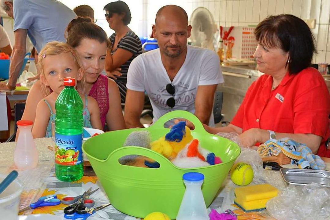 Interessant ist für die Besucher auch der Besuch der Kunstküche.  | Foto: Danielle Hirschberger
