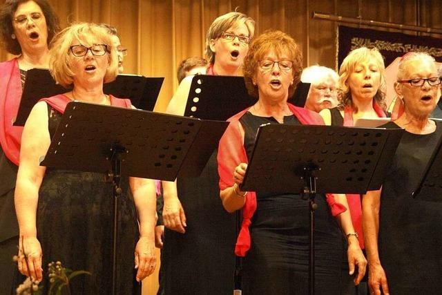 Drei lebendige Gesangsstunden in Rickenbach