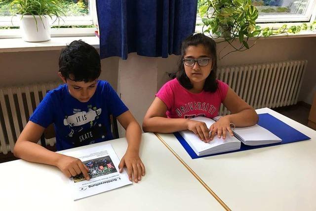 Bunt, schwarz-weiß, in Braille-Schrift oder hörbar: Preis für Schülerzeitung in Waldkirch