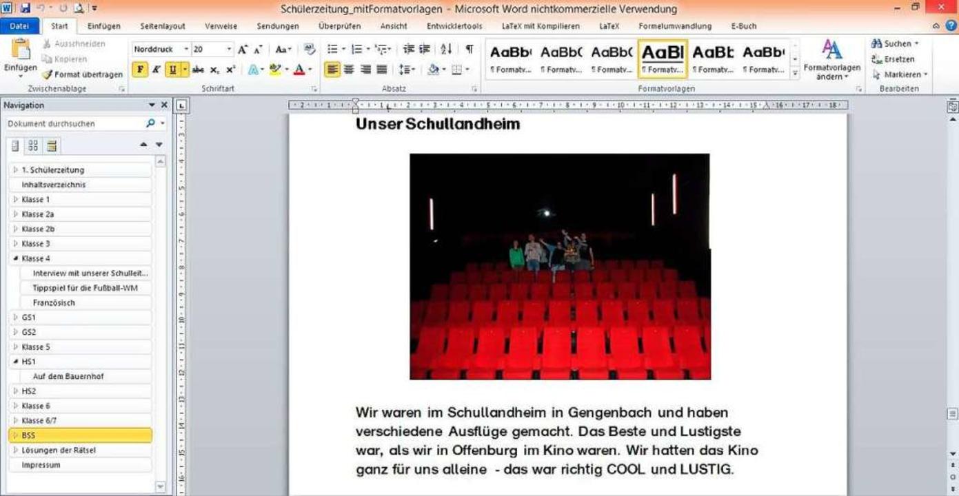 Schülerzeitung digital  | Foto: Schule