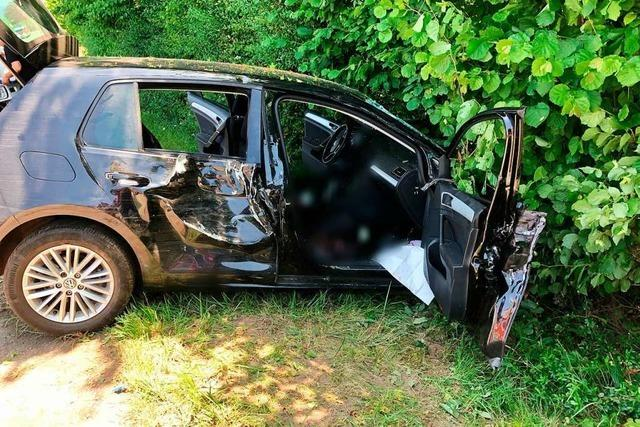 22-Jähriger bei Unfall in Freiamt schwer verletzt