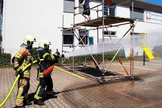 Feuerwehren im Kreis Waldshut treten gegeneinander an