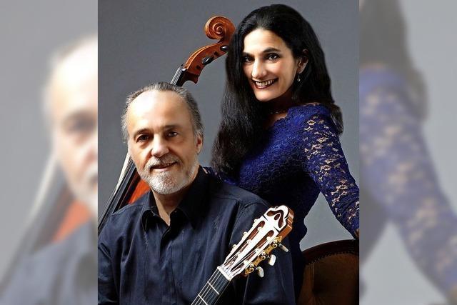 Duo Burstein und Legnani präsentiert Meisterwerke und Eigenkompositionen für Cello und Gitarre