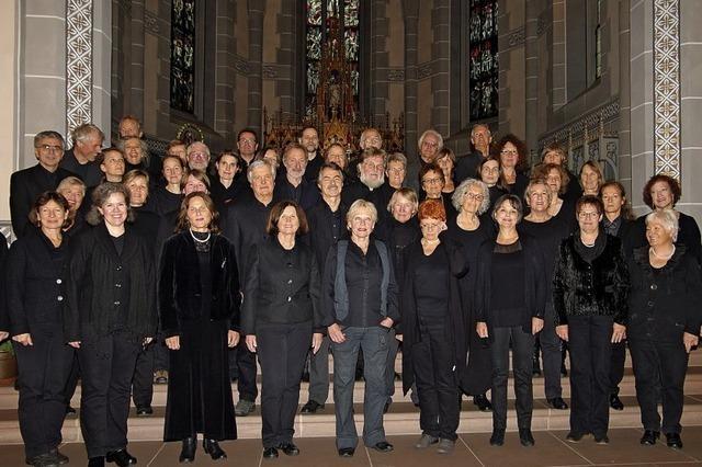 Kammerchor Staufen zeigt neues Liedersortiment