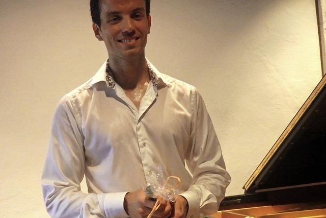 Musikalische Erfrischung vom Piano