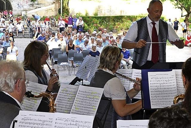 Musik im Rosenfelspark stößt auf großes Interesse