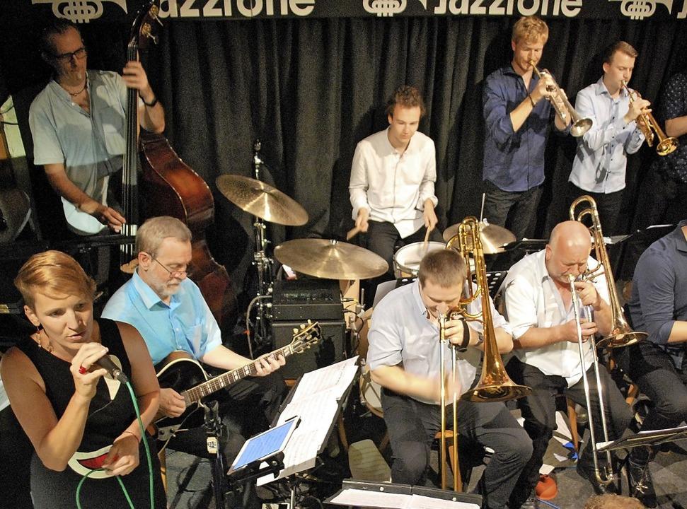 Eine Swing-Matinee mit dem Big Sound O...loss die Konzertsaison im Jazztone ab.    Foto: Thomas Loisl Mink