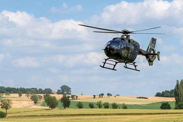 Bundeswehr-Hubschrauber stürzt ab – Ein Toter, ein Verletzter