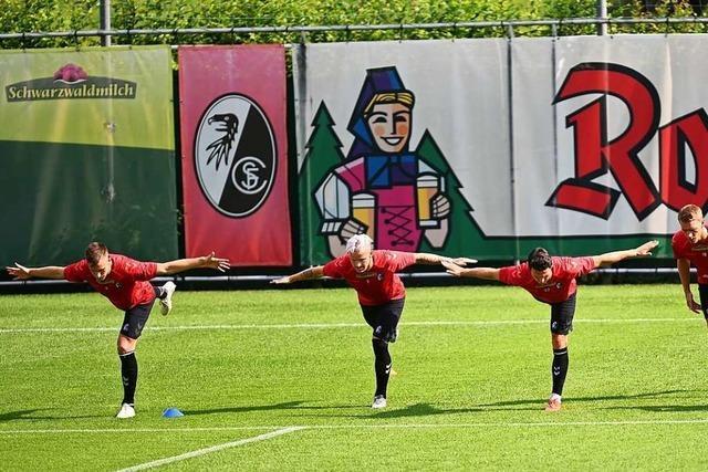 Neuzugänge und alte Bekannte beim Trainingsauftakt des SC Freiburg