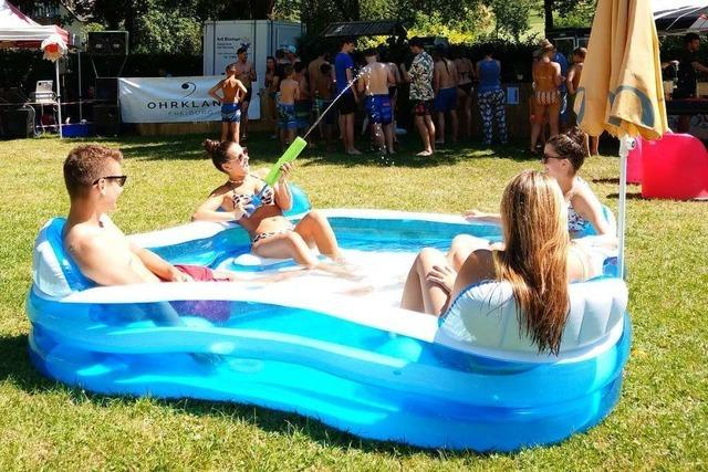 Wie war's bei...der Beachparty im Panoramabad Glottertal?