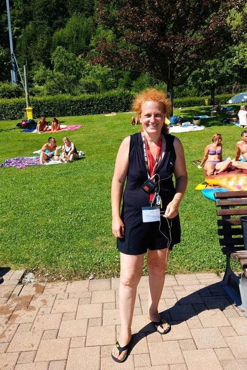 Diana Spieth ist im Eventbereich tätig... Beachparty im Glottertal organisiert.  | Foto: Sarah Schädler