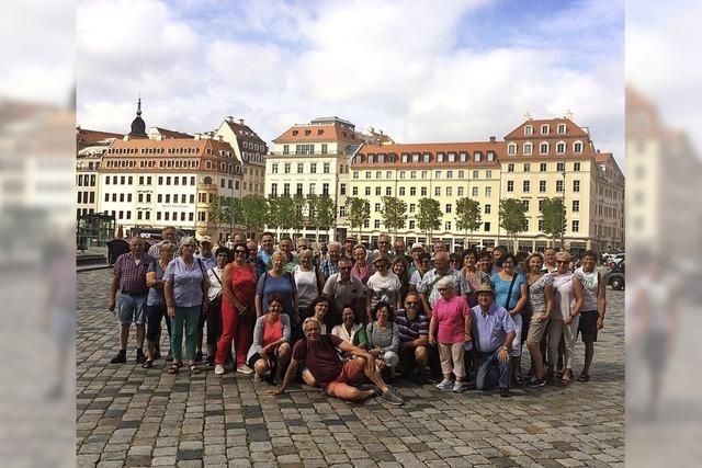 Bräunlinger laufen in Sachsen auf
