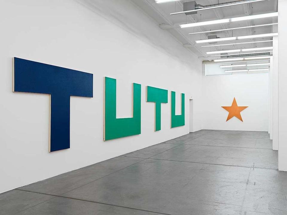 Oliver Mosset Im Haus Konstruktiv In Zürich Abstrakt Sinnlich