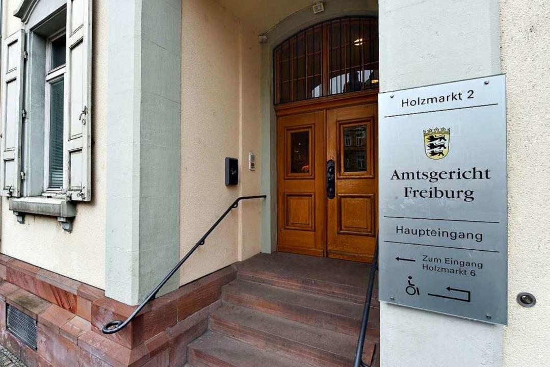 Zur Verhandlung am Freiburger Amtsgericht kam die Schülerin nicht.  | Foto: Thomas Kunz