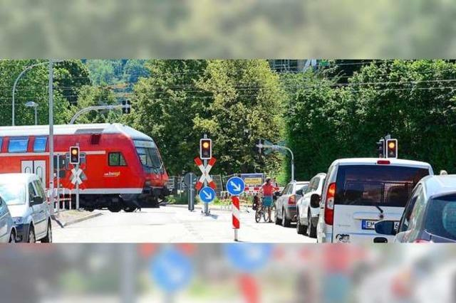 Wartezeiten an der Schranke nerven die Menschen in Littenweiler