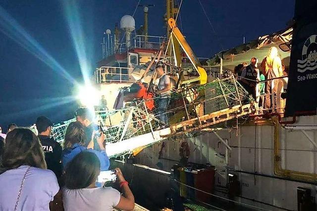 Italien bleibt im Sea-Watch-Streit hart