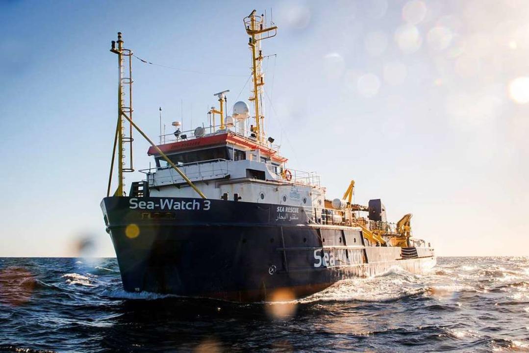 Die  Sea-Watch 3  | Foto: Chris Grodotzki , Jib Collective