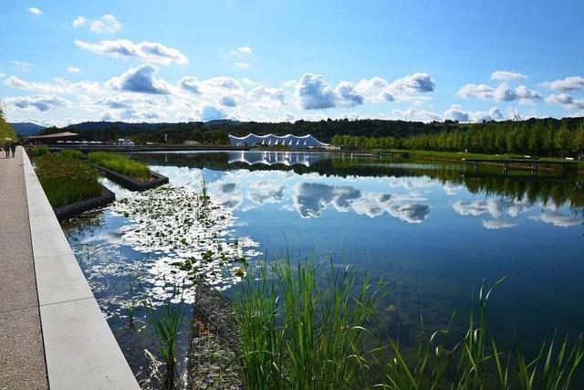 See auf Gartenschau-Gelände ist undicht – Schuldfrage kommt vor Gericht