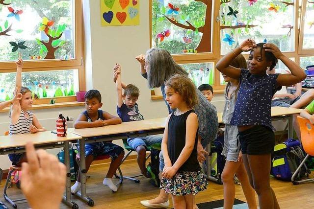 An der FT-Grundschule gibt es noch Französischunterricht ab der ersten Klasse
