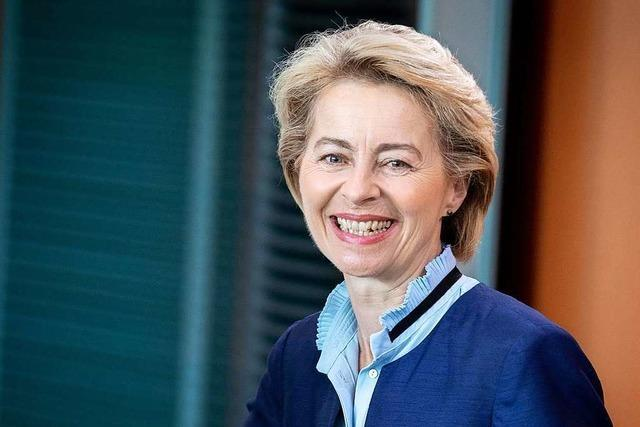 Von der Leyen als EU-Kommissionspräsidentin nominiert