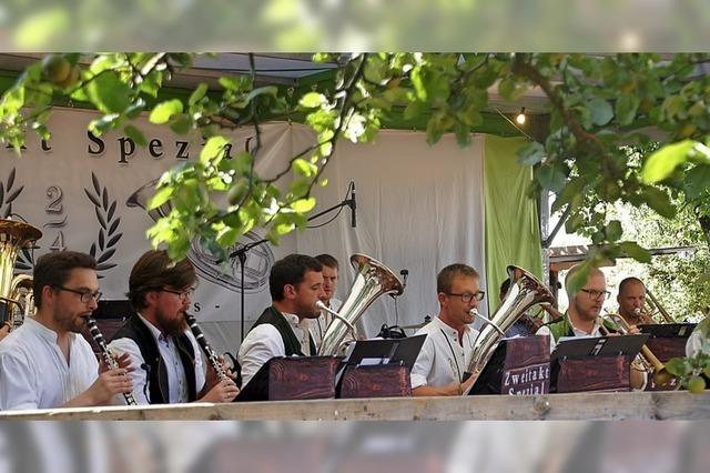 Dreitägiges Fest mit viel Musik beim Musikverein Waldkirch-Siensbach