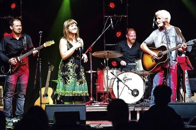 Wise-Dietkron-Band gibt Konzert in Brandl's Kulturscheune in Wehr