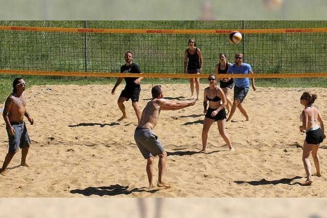 Beachvolleyball in Bubenbach