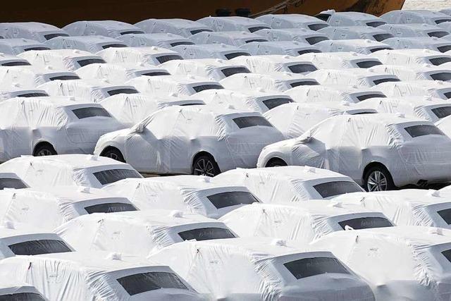 Autobauer sprechen von einer
