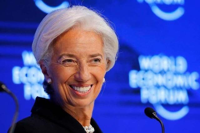 IWF-Chefin Lagarde soll Präsidentin der Europäischen Zentralbank werden