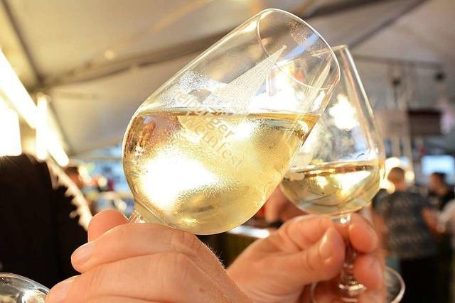 Von Donnerstag an wird rund ums Münster Freiburger Weinfest gefeiert