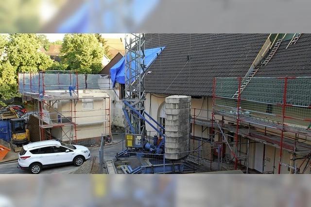 Umbau des Rathausareals geht voran