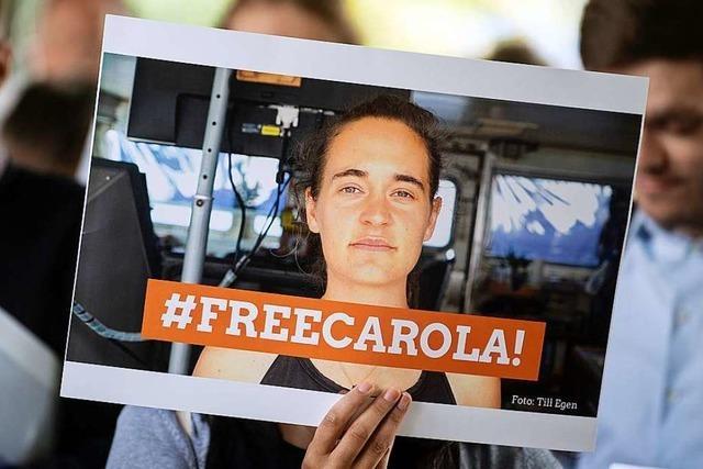 Sea-Watch-Kapitänin Carola Rackete ist frei