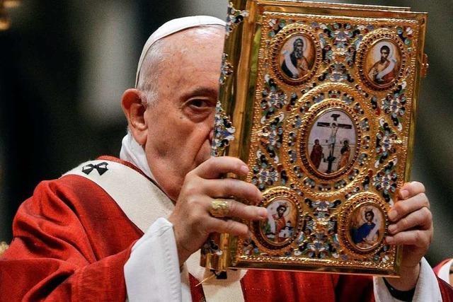 Vom Zurechtflicken der Kirche hält der Papst nichts