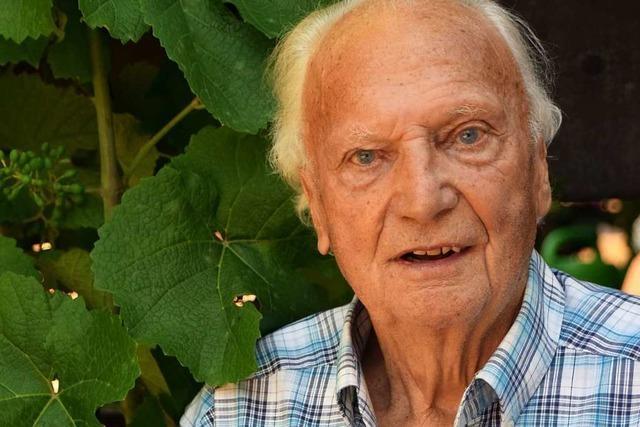 Heinrich Jenne aus Ebringen wird 90: