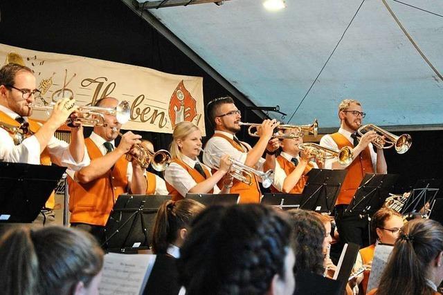 So gemütlich war das Konzert des Musikvereins Horben