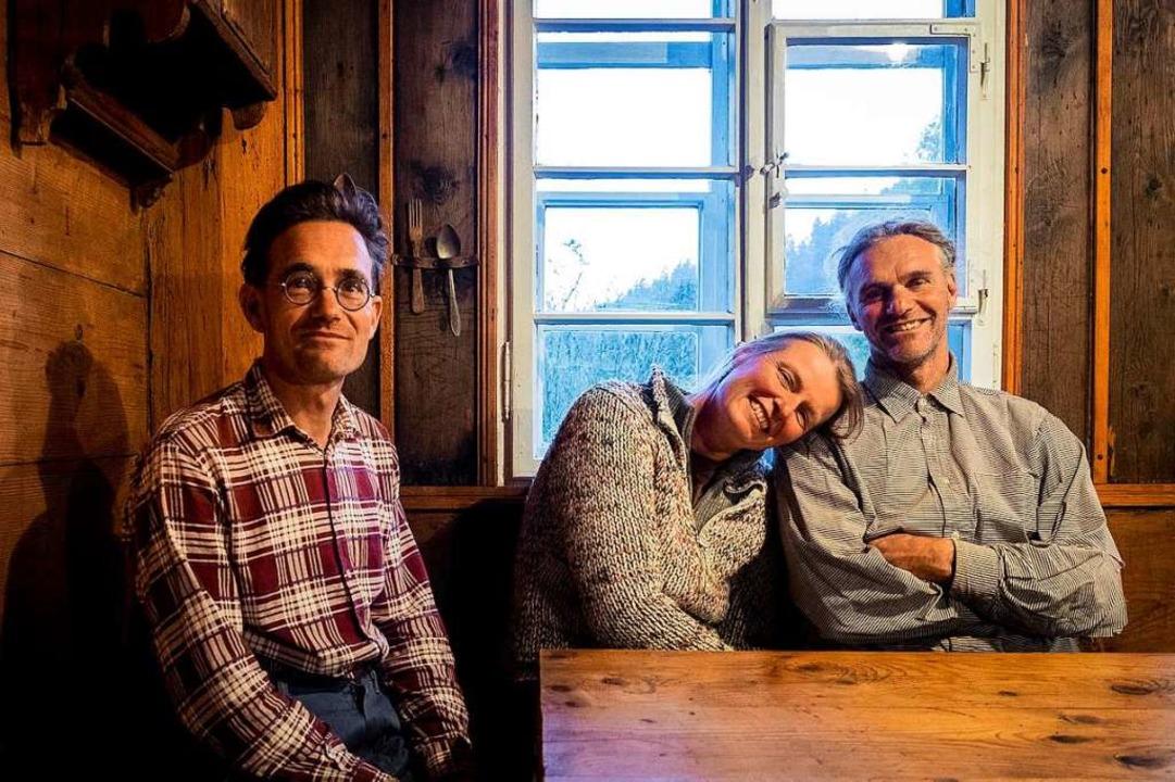 Oliver, Martina und Holger Albrecht (von links)  | Foto: Patrick Kunkel