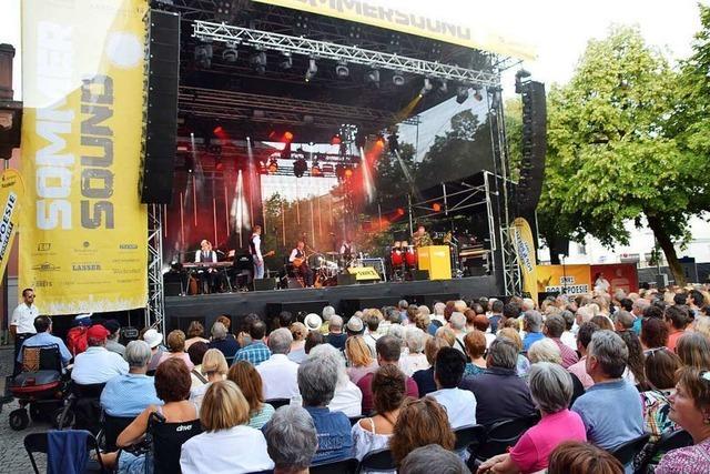 Das Sommersound in Schopfheim ist ein Magnet