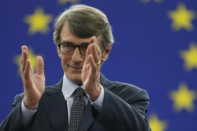 Italienischer Sozialdemokrat Sassoli ist neuer Präsident des EU-Parlaments