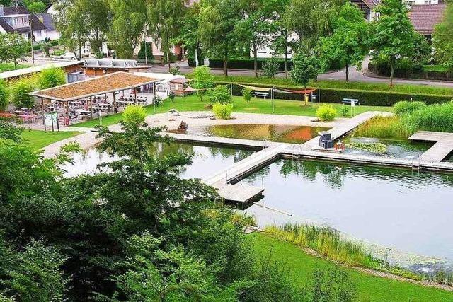Naturbad in Sulz ist wieder offen: Verein appelliert an Vernunft der Besucher