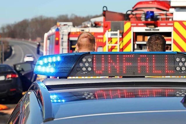 Unfall auf A5 zwischen Freiburg-Mitte und Freiburg-Nord sorgt für Verkehrsbehinderung